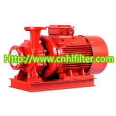 XBD-W single stage multistage fire pump