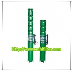 QJ Cast Iron Borehole Submersible Pump