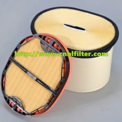 Z&L JS9024 Honeycomb Air Filters Excavator Parts Paper Filter air Purifier 252-5002
