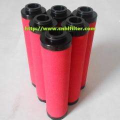 BA300427 Oil and gas separation filter and High standard natural gas coalescer filter element