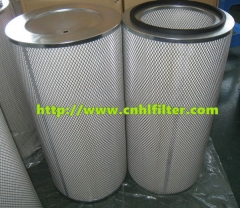 Industrial replacement air intake filters