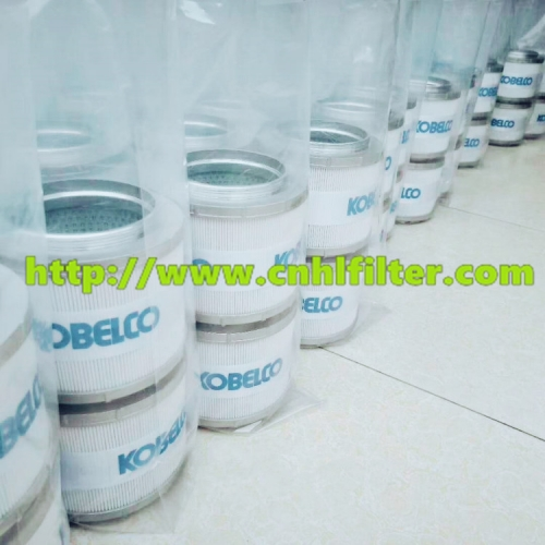 Replaced Kobelco excavator parts YN52V01016R610 return oil filter for hydraulic system oil filter element