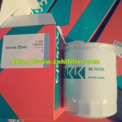 China manufacturer diesel filter for marine diesel engines HH160-32093 124550-35100 8942019422 894235020 MD001445