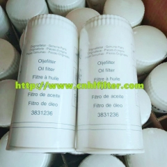 Excavating machine auto oil filter 3831236