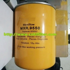 REPLACEMENT PARKER HYDRAULIC OIL FILTER CARTRIDGE MXR9550.EFFICIENT HYDRAULIC OIL FILTER