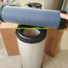 Replaced donalson equipment truck air filter element P812363 with high quality