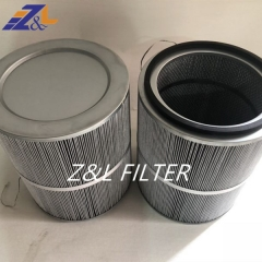 Z&L Manufacture Dust Removal Cartridge Filter For Gas Turbine Air Inlet