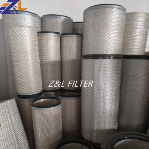High Quality Air Filter Production Line P181002 17801-2550 HP433 AF472 C311226 PA1846 Truck Air Filter For Diesel Generator