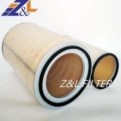 High Filtration from Z&L Filter supply dust collector air filter element 3205